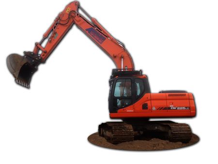 Excavator from Aberclean Aberdeen